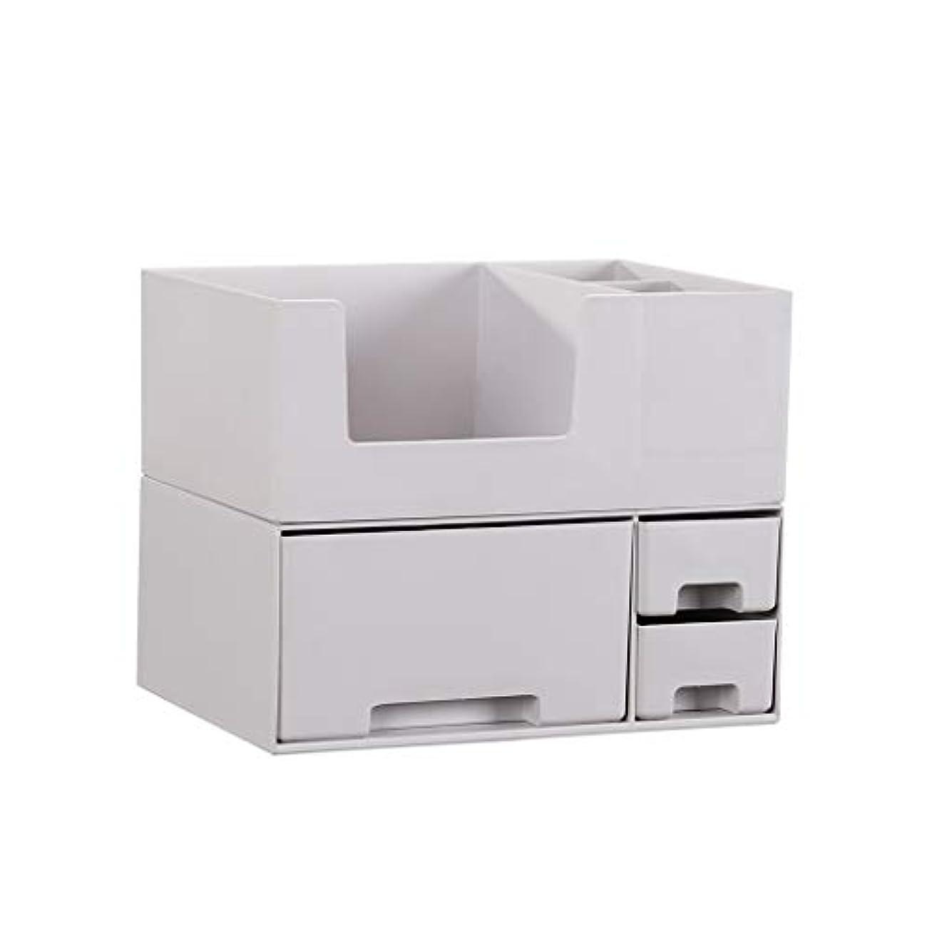 教育する結び目取り扱い化粧品収納ボックスホームデスクトップレイヤード引き出しドレッシングテーブルスキンケアボックスフレーム