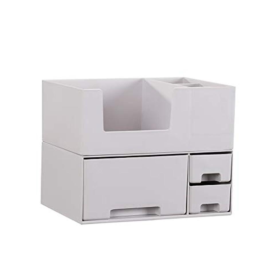 縮れた呼ぶストレス化粧品収納ボックスホームデスクトップレイヤード引き出しドレッシングテーブルスキンケアボックスフレーム