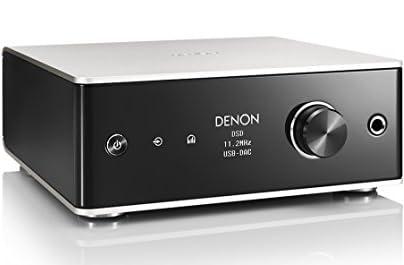 Denonデノン ヘッドホンアンプ USB-DAC DSD 11.2 MHz、PCM 384 kHz / 32bit ハイレゾ対応 プレミアムシルバー  DA-310USB