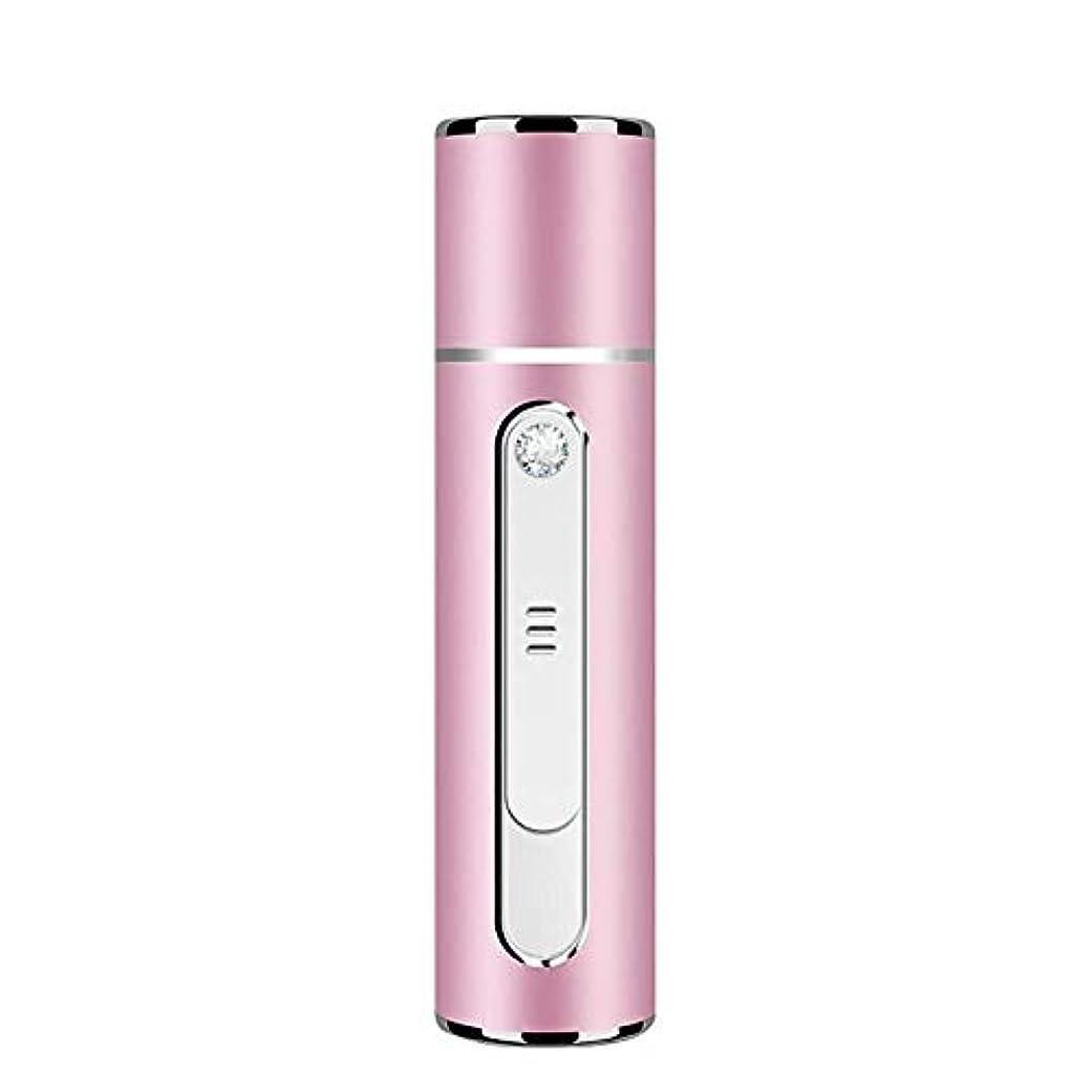 商品非難するおもてなしNano Facial Mister-ポータブルミニフェイシャルスチーマー-アップグレードされた実用的-肌の若返りと保湿-冷却保湿アトマイザー-USBパワーバンク,Rose