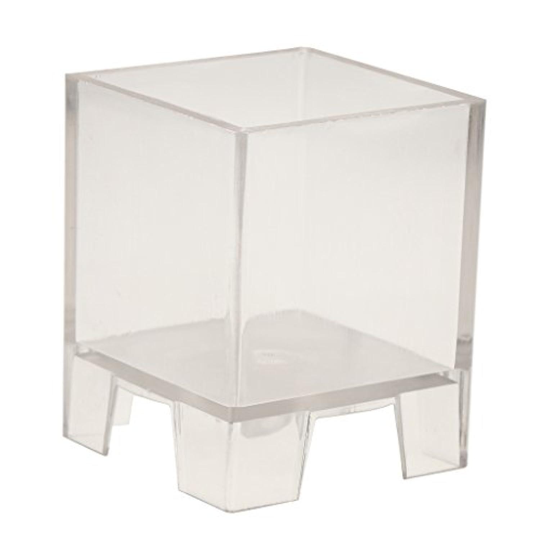 Prettyia キャンドル製作 モールド 正方形 金型 キューブ プラスチック製 全2サイズ 結婚式 - 51x51x51mm