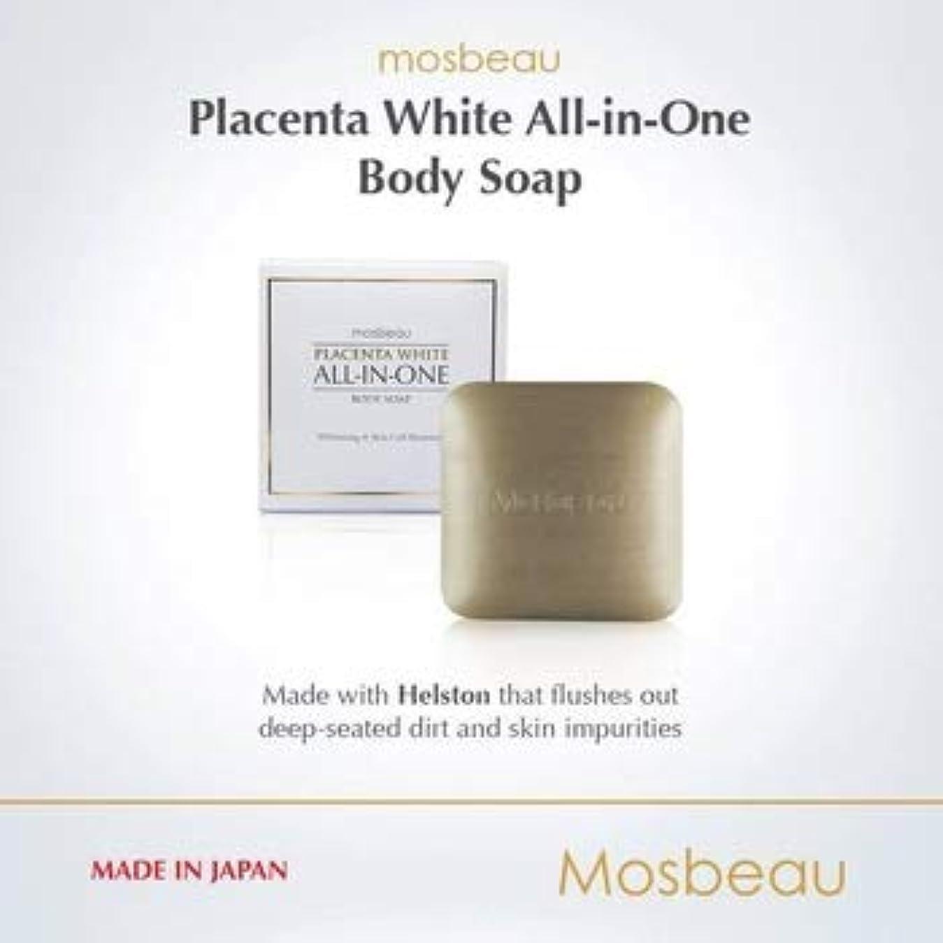層お香ポルノmosbeau ALL-IN-ONE BODY SOAP 120g モスビュー オールインワン ボディーソープ