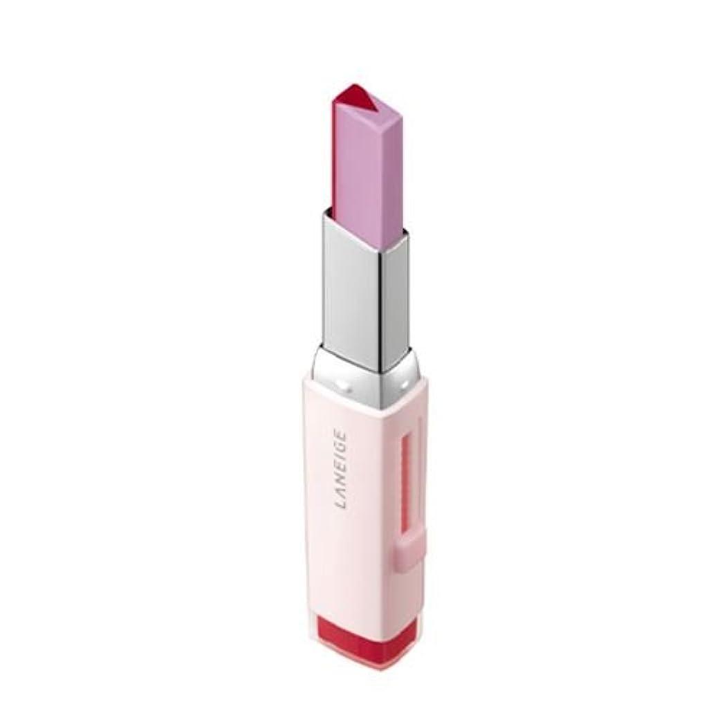 ウガンダ不十分接続された[New] LANEIGE Two Tone Tint Lip Bar 2g/ラネージュ ツー トーン ティント リップ バー 2g (#07 Lollipop Red) [並行輸入品]