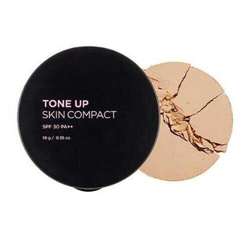 ブリッジバルブ北西[ザ?フェイスショップ] THE FACE SHOP [トーンアップ コンパクト 10g] Tone Up Compact SPF30 PA++ 10g [海外直送品] (#23. Natural Beige)