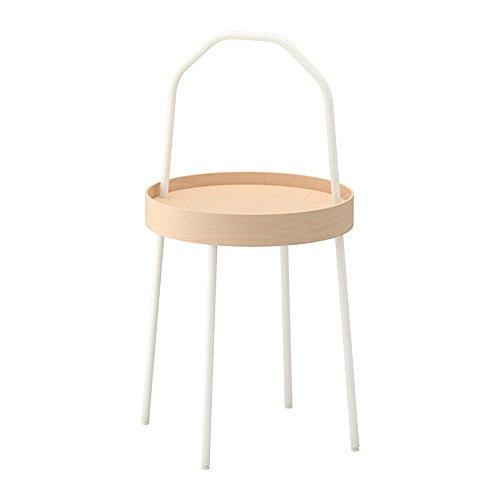 RoomClip商品情報 - IKEA/イケア BURVIK:サイドテーブル ホワイト/バーチ (203.403.91)