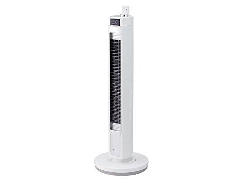 コイズミ コードレス タワー 扇風機 ホワイト KTF-0571/W