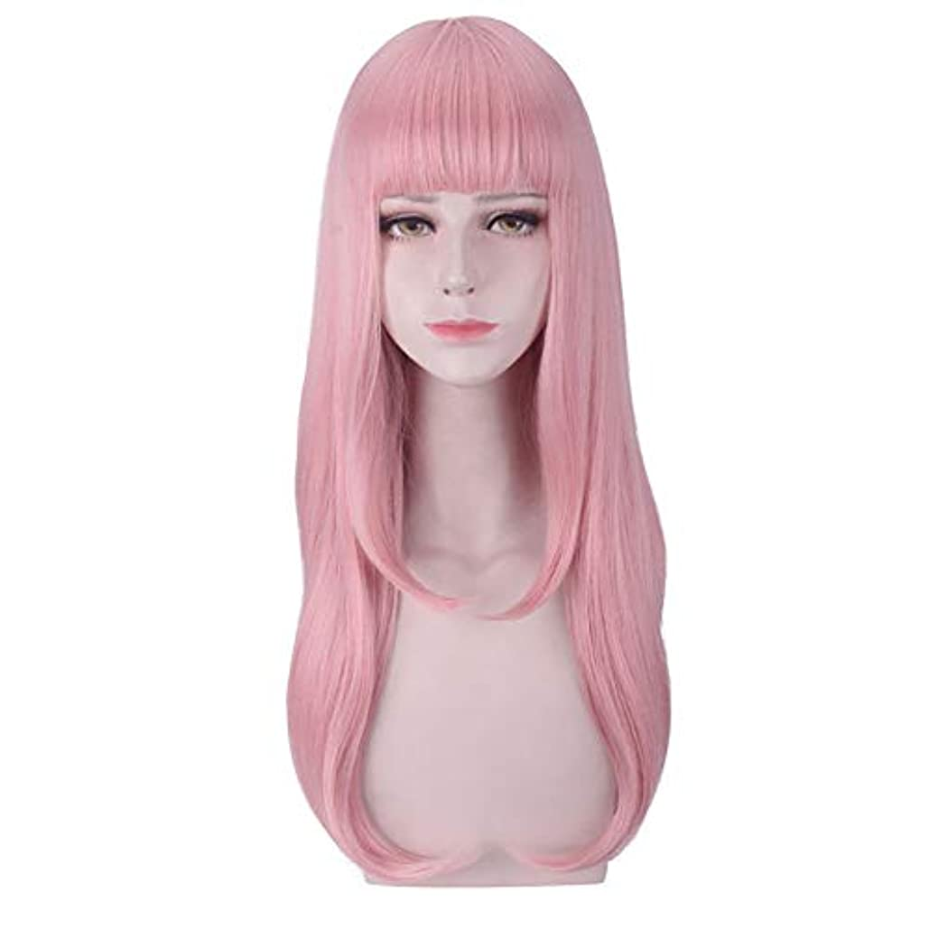 血色の良い潤滑するゴージャスウィッグソフトパウダーコスプレウィッグを再生ウィッグ人工毛の役割を果たしてウィッグの役割