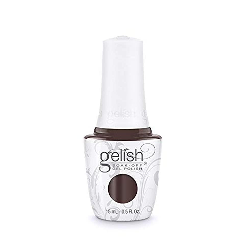 ナチュラル変な容赦ないHarmony Gelish Gel Polish - 2017 Thrill Of The Chill - Caviar On Ice - 0.5oz/15ml