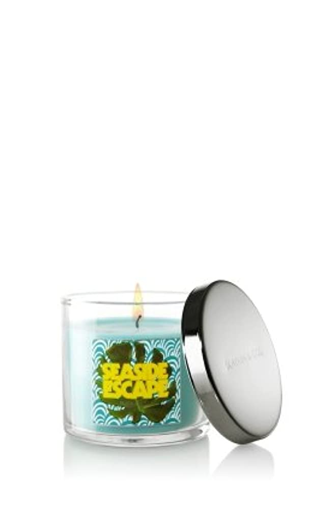 器官製品謙虚なBath and Body Works Slatkin & Co 4オンスScented Filled Candle – Seaside Escape