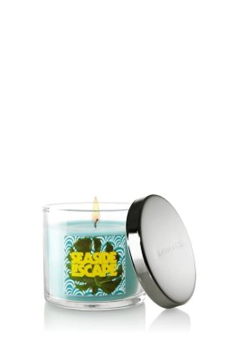 血統近々休眠Bath and Body Works Slatkin & Co 4オンスScented Filled Candle – Seaside Escape