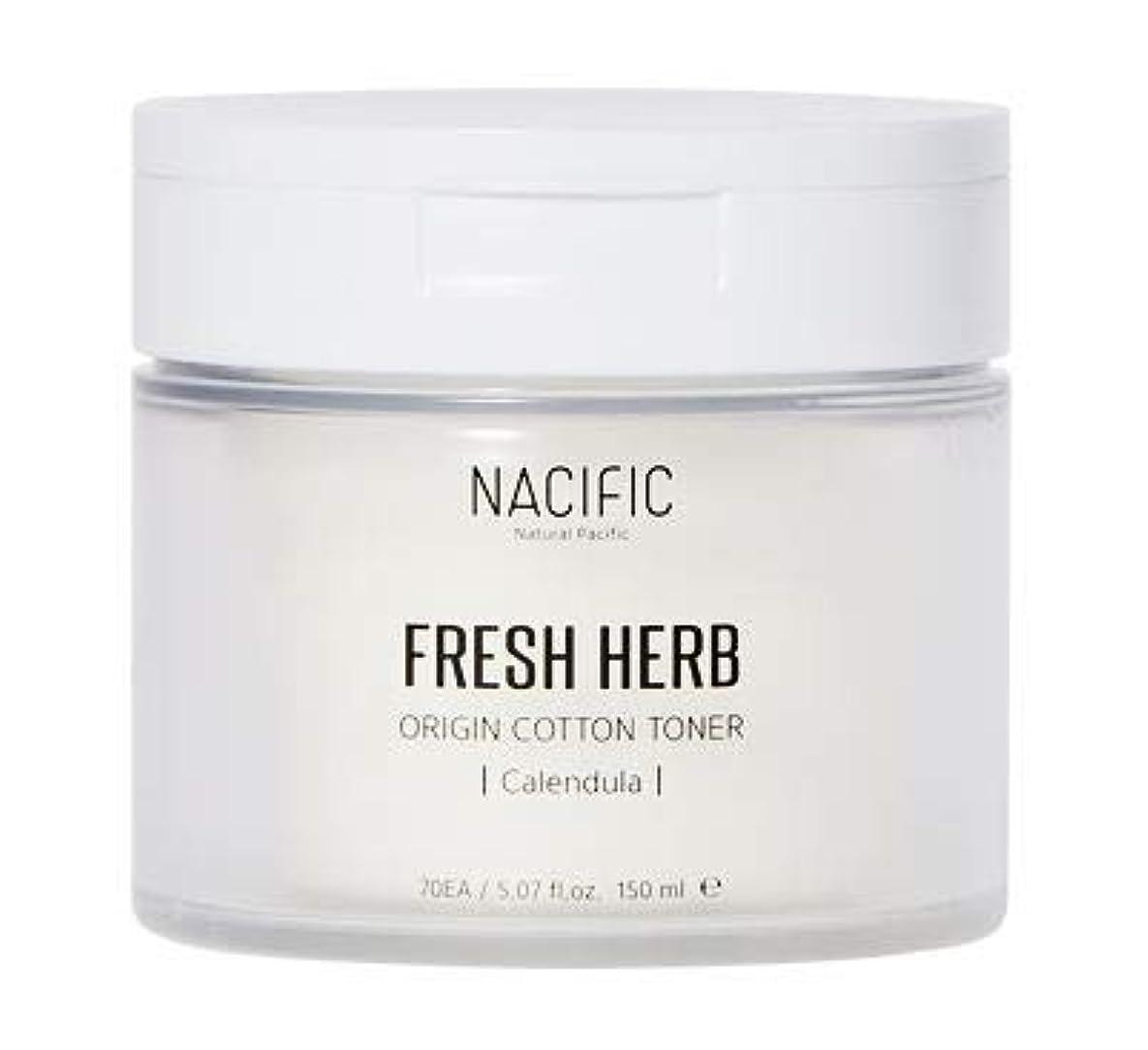 デモンストレーションで出来ている純粋な[Nacific] Fresh Herb Origin Cotton Toner 150ml (Calendula) /[ナシフィック] フレッシュ ハーブ オリジン コットン トナー (カレンデュラ)150ml [並行輸入品]