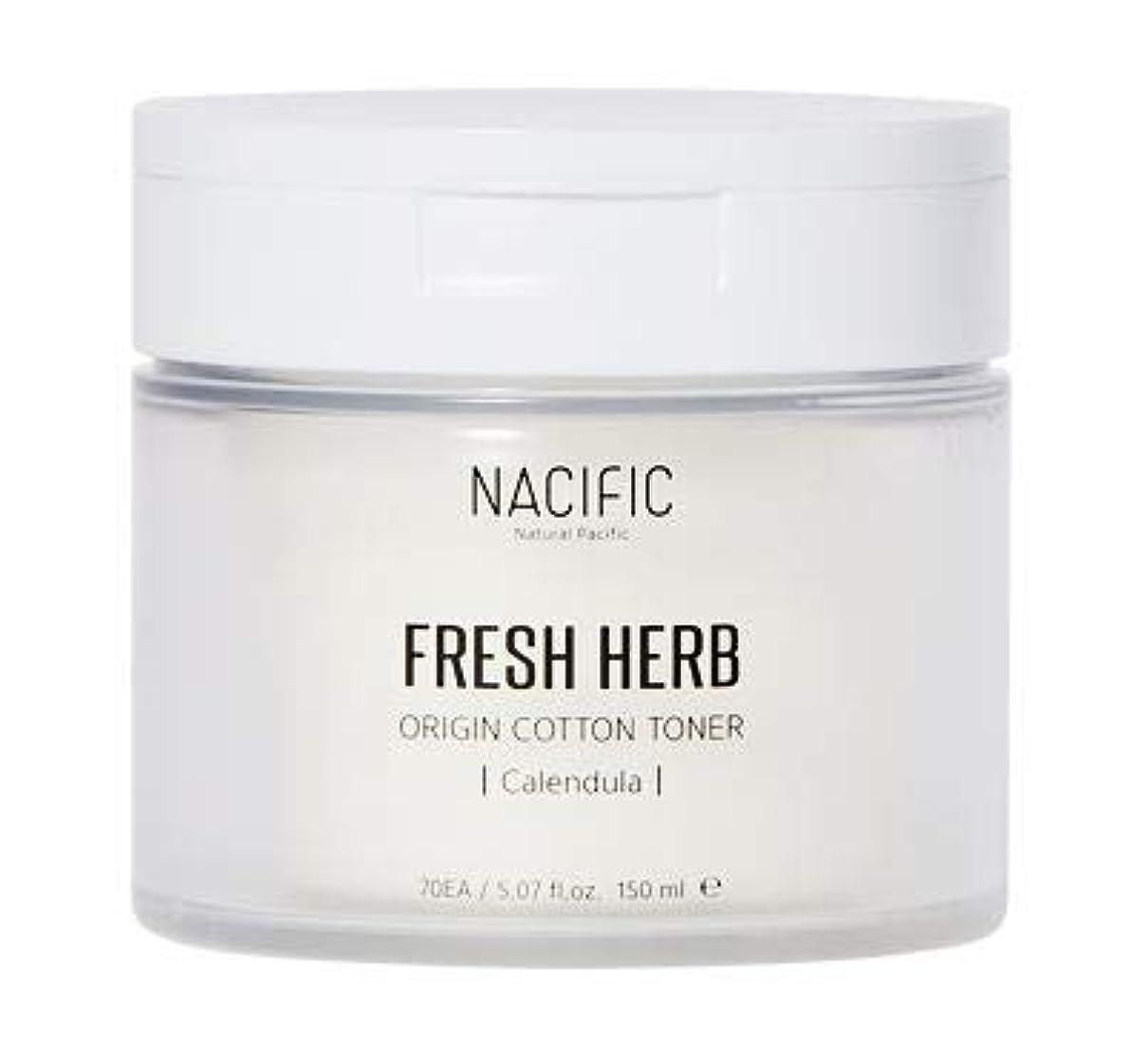解放する言い直すポーチ[Nacific] Fresh Herb Origin Cotton Toner 150ml (Calendula) /[ナシフィック] フレッシュ ハーブ オリジン コットン トナー (カレンデュラ)150ml [並行輸入品]