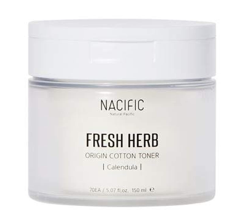 行き当たりばったり硬い砂漠[Nacific] Fresh Herb Origin Cotton Toner 150ml (Calendula) /[ナシフィック] フレッシュ ハーブ オリジン コットン トナー (カレンデュラ)150ml [並行輸入品]