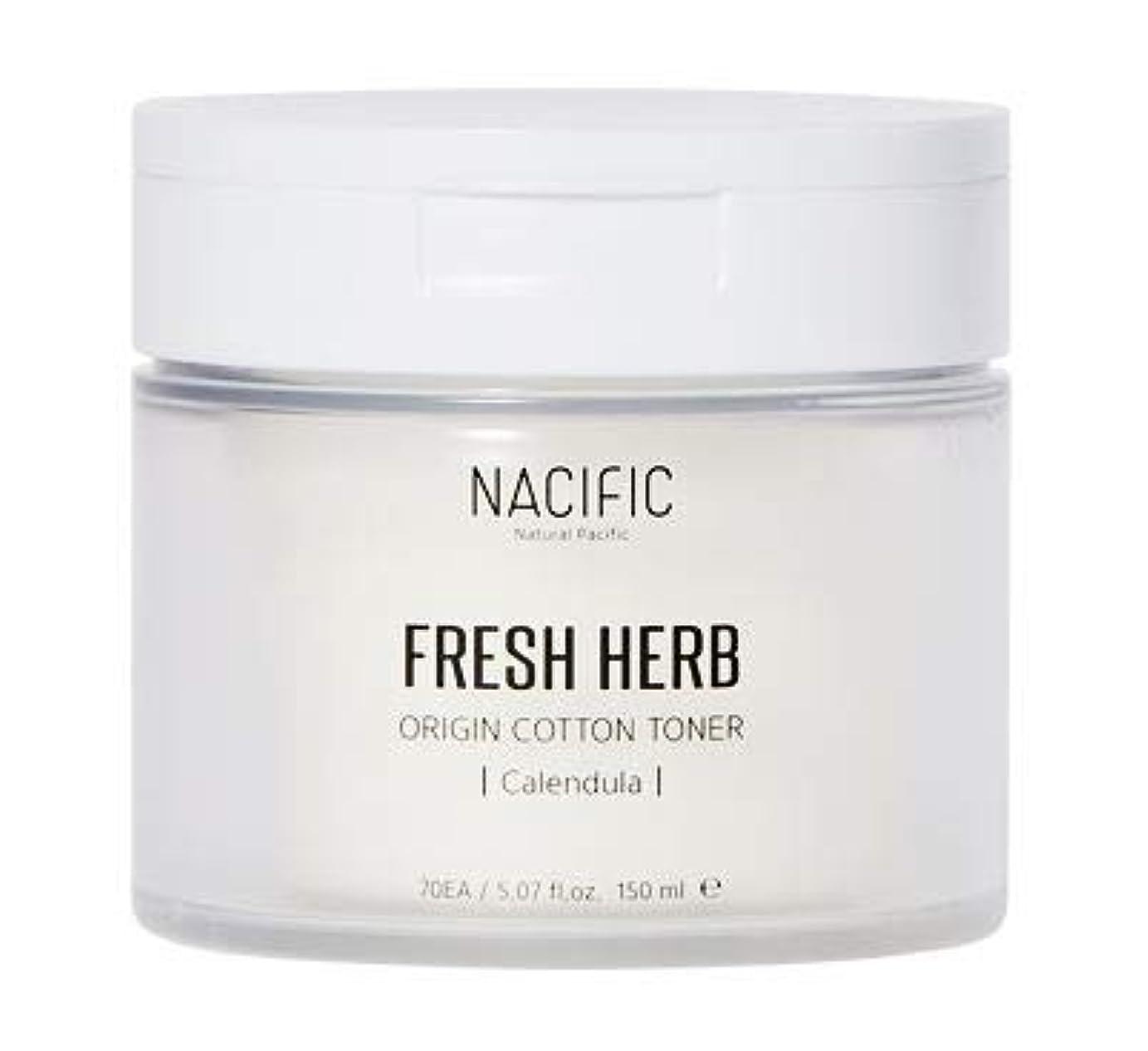 デッキ俳句エンジン[Nacific] Fresh Herb Origin Cotton Toner 150ml (Calendula) /[ナシフィック] フレッシュ ハーブ オリジン コットン トナー (カレンデュラ)150ml [並行輸入品]