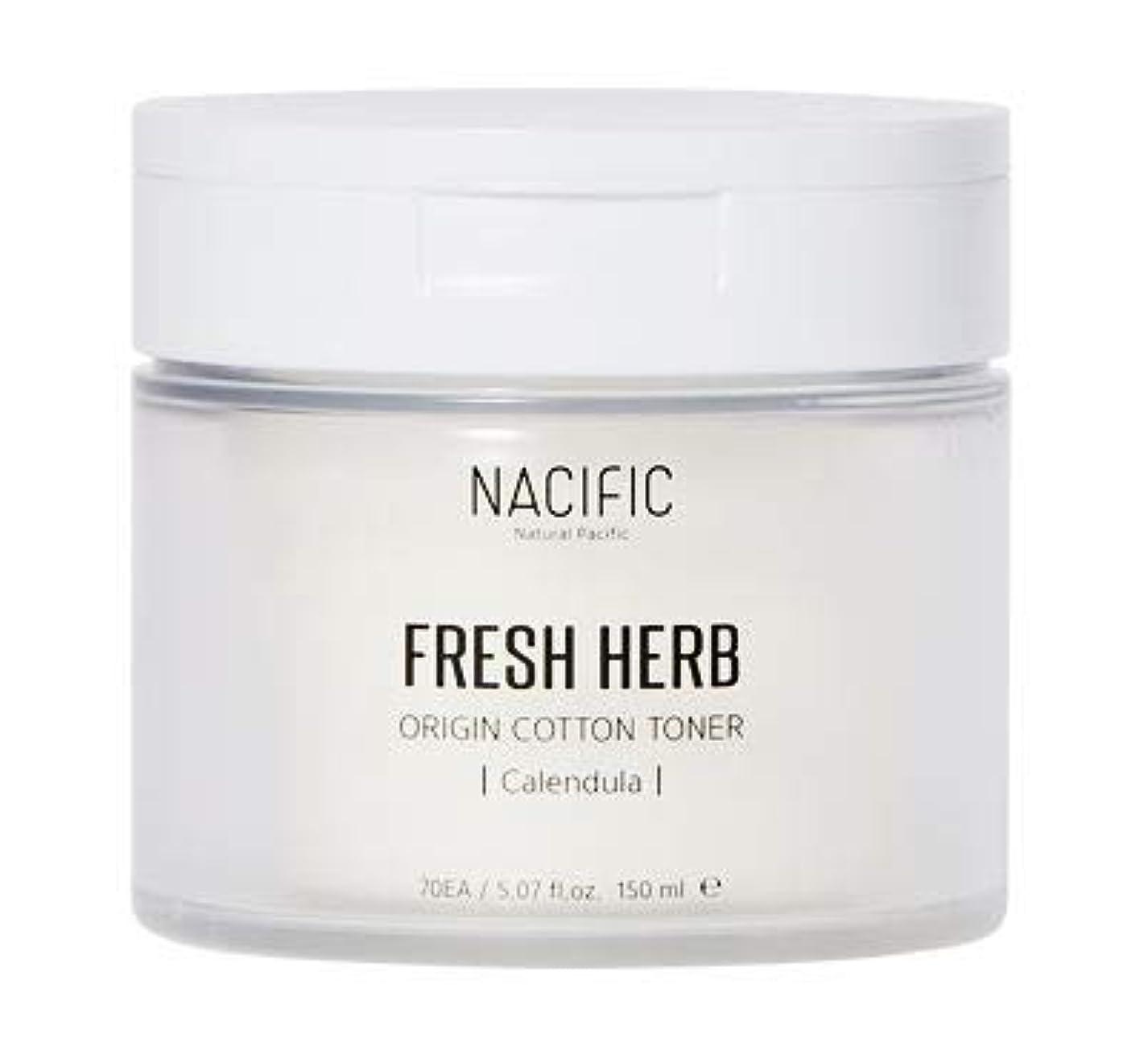 眩惑するポンペイ最高[Nacific] Fresh Herb Origin Cotton Toner 150ml (Calendula) /[ナシフィック] フレッシュ ハーブ オリジン コットン トナー (カレンデュラ)150ml [並行輸入品]
