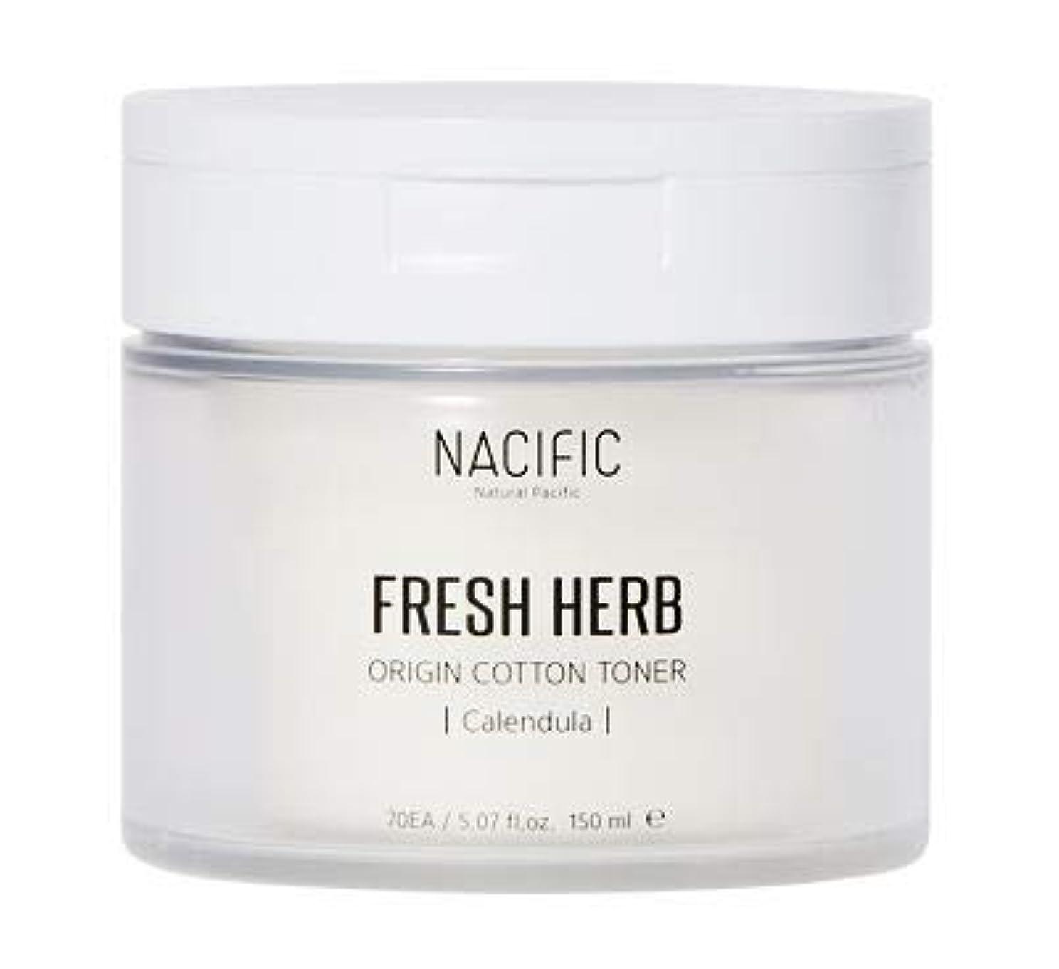 分布太陽海外[Nacific] Fresh Herb Origin Cotton Toner 150ml (Calendula) /[ナシフィック] フレッシュ ハーブ オリジン コットン トナー (カレンデュラ)150ml [並行輸入品]