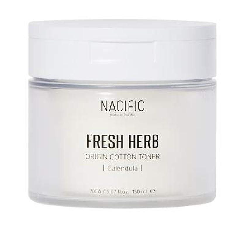 豊かにするスパイショートカット[Nacific] Fresh Herb Origin Cotton Toner 150ml (Calendula) /[ナシフィック] フレッシュ ハーブ オリジン コットン トナー (カレンデュラ)150ml [並行輸入品]
