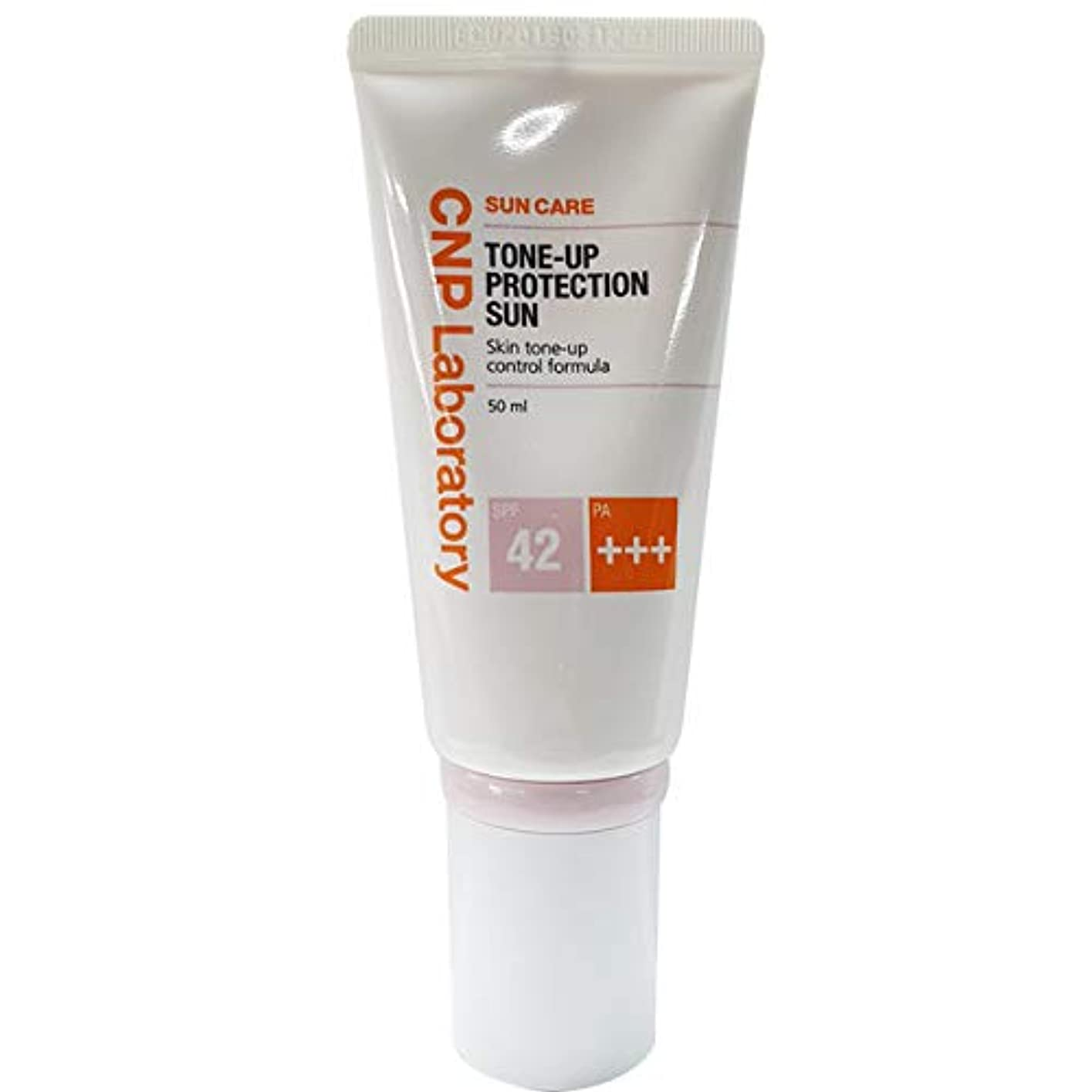 気質ささやき観客CNP チャアンドパク トンオププロテクションサン?クリーム紫外線遮断剤 50ml (SPF42 / PA+++)、2019 NEW, CNP Tone-up Protection Sun Cream/韓国日焼け止め
