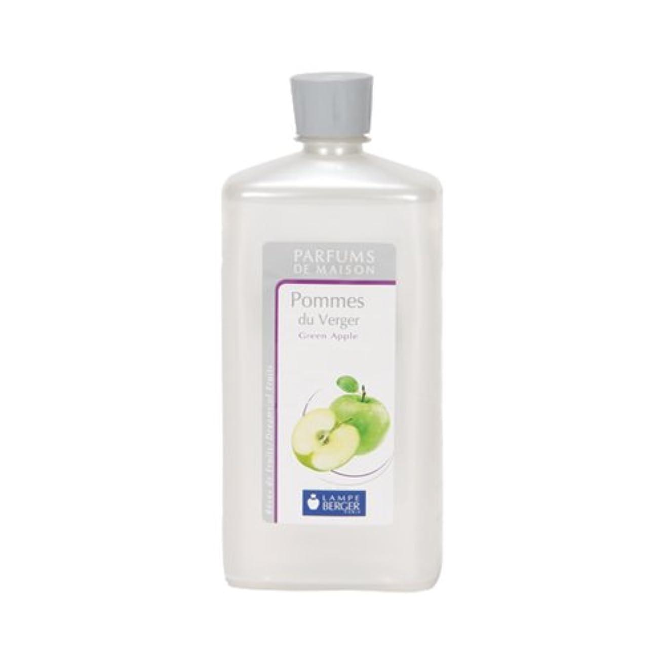 明らかにする水っぽいマウスピースランプベルジェ アロマオイル 1L 【青リンゴ】 [並行輸入品]