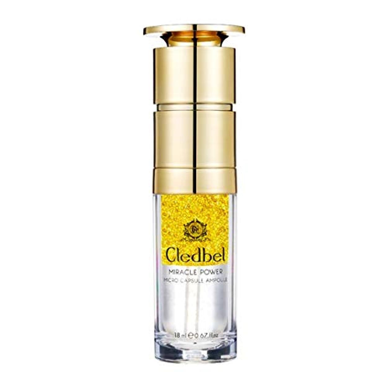 アクセスできない私たち自身タクト[cledbel] Miracle Power Micro Capsule Ampoule 18ml / ミラクルパワーマイクロカプセルアンプル 18ml [並行輸入品]