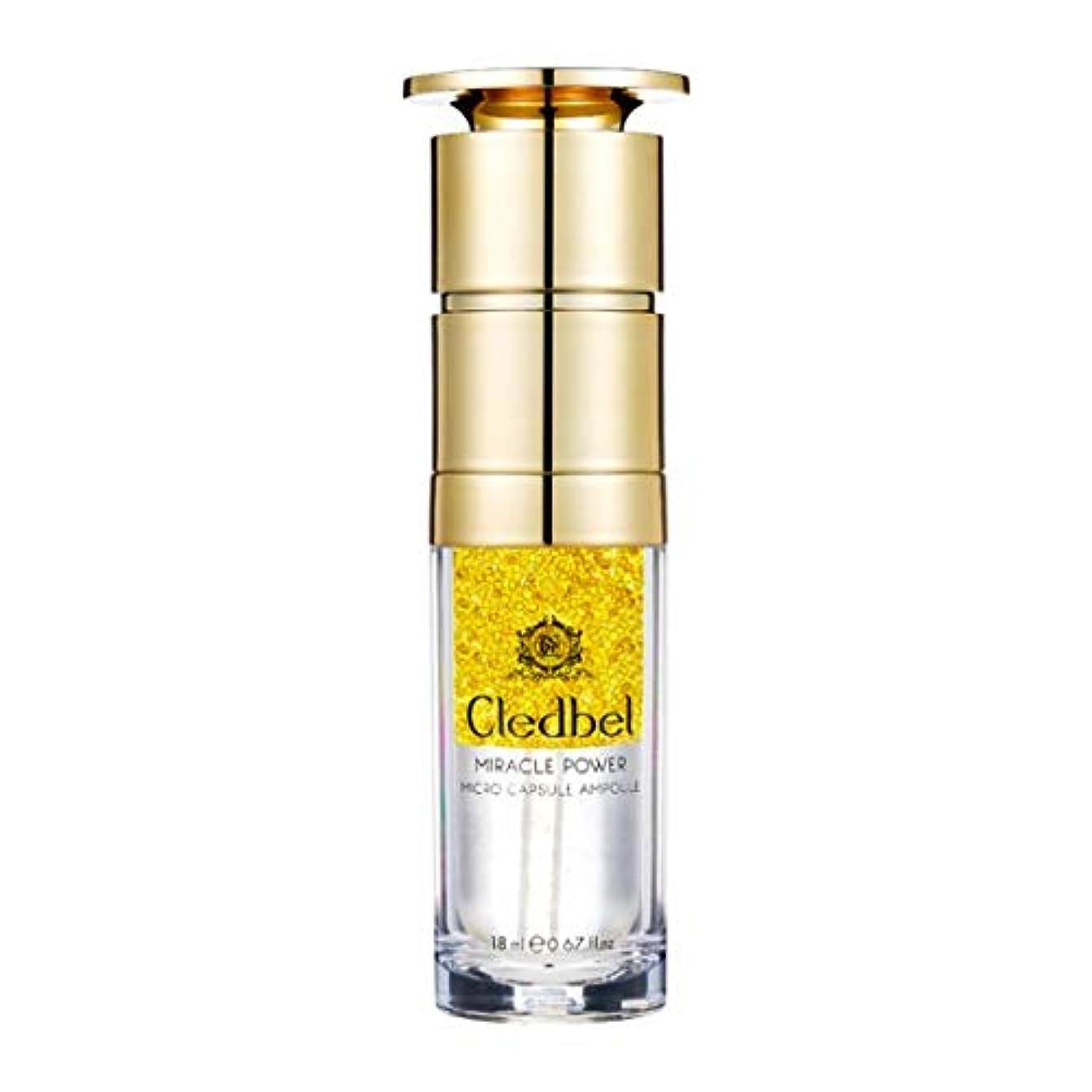 ルーフ風変わりなボルト[cledbel] Miracle Power Micro Capsule Ampoule 18ml / ミラクルパワーマイクロカプセルアンプル 18ml [並行輸入品]
