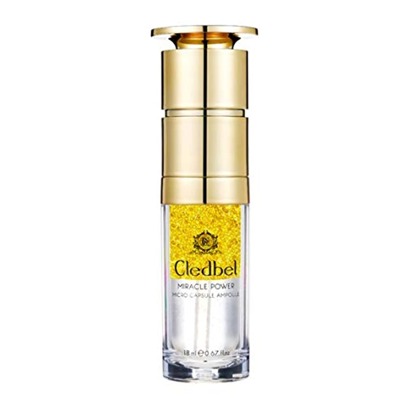 [cledbel] Miracle Power Micro Capsule Ampoule 18ml / ミラクルパワーマイクロカプセルアンプル 18ml [並行輸入品]