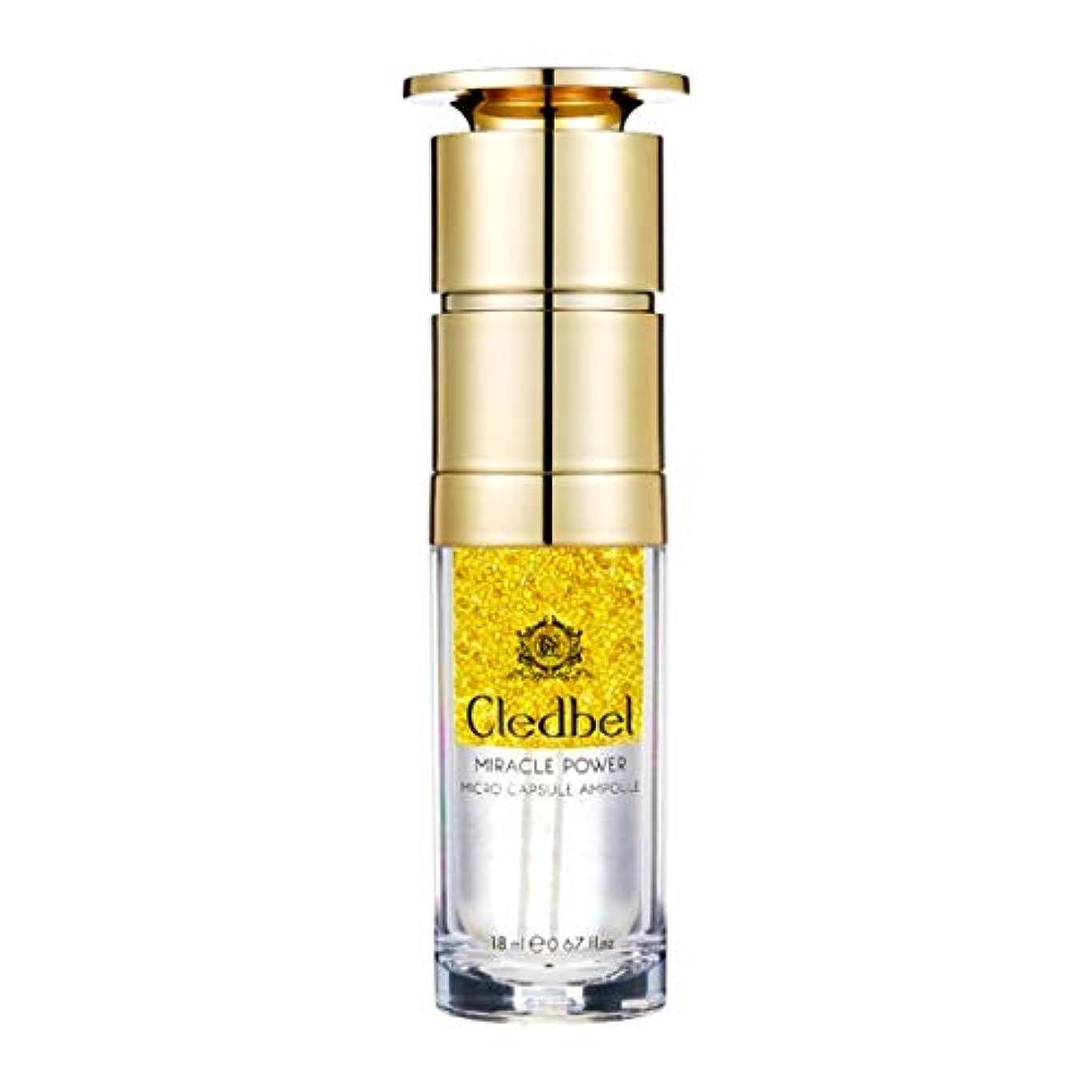 力鈍い反発する[cledbel] Miracle Power Micro Capsule Ampoule 18ml / ミラクルパワーマイクロカプセルアンプル 18ml [並行輸入品]
