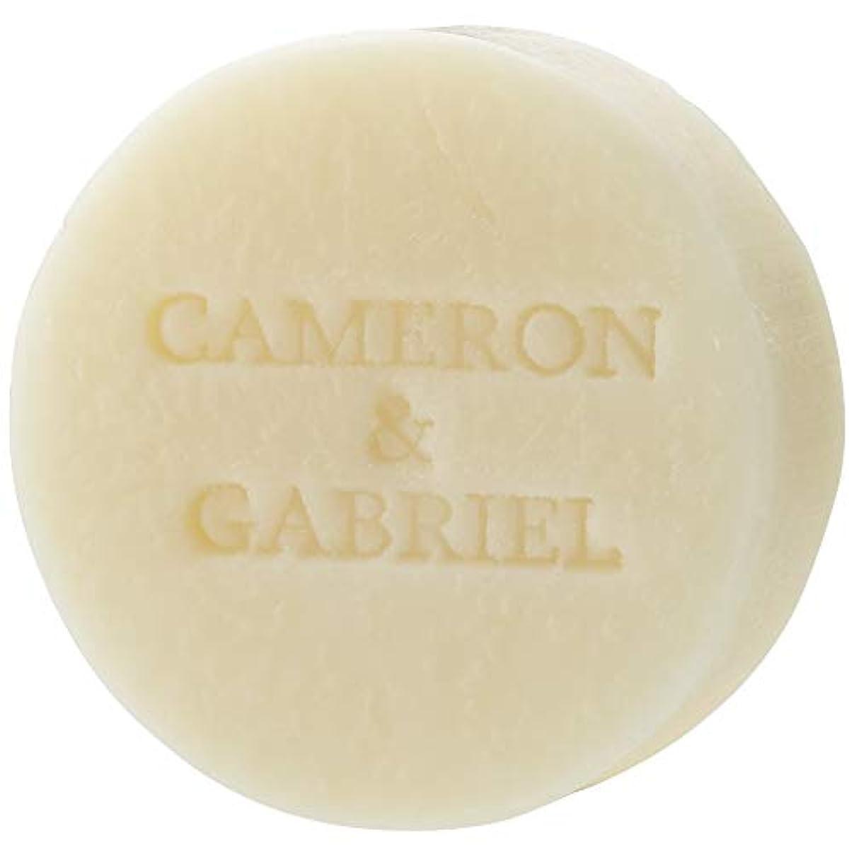 鎮痛剤勇気のある冊子キャメロン&ガブリエル 天使の聖石(化粧石鹸)80g 日本製