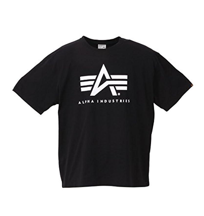 条件付きゾーンサーバ(アルファ インダストリーズ) ALPHA INDUSTRIES 大きいサイズ Aマーク半袖Tシャツ