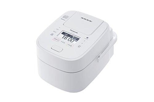パナソニック スチーム&可変圧力IHジャー炊飯器 1.8L (ホワイト) SR-VSX188-W 1台