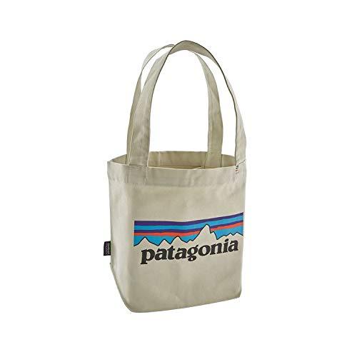 パタゴニア ミニトート バッグ 59275 PLBS オーガニックコットン ORGANIC COTTON P-6 Logo: Bleached Stone Patagonia [並行輸入品]