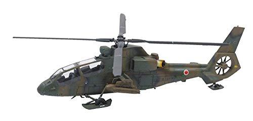 1/72 ミリタリーモデルキット No.15 陸上自衛隊 観測ヘリコプター OH-1 ニンジャ&トーイングトラクターセット