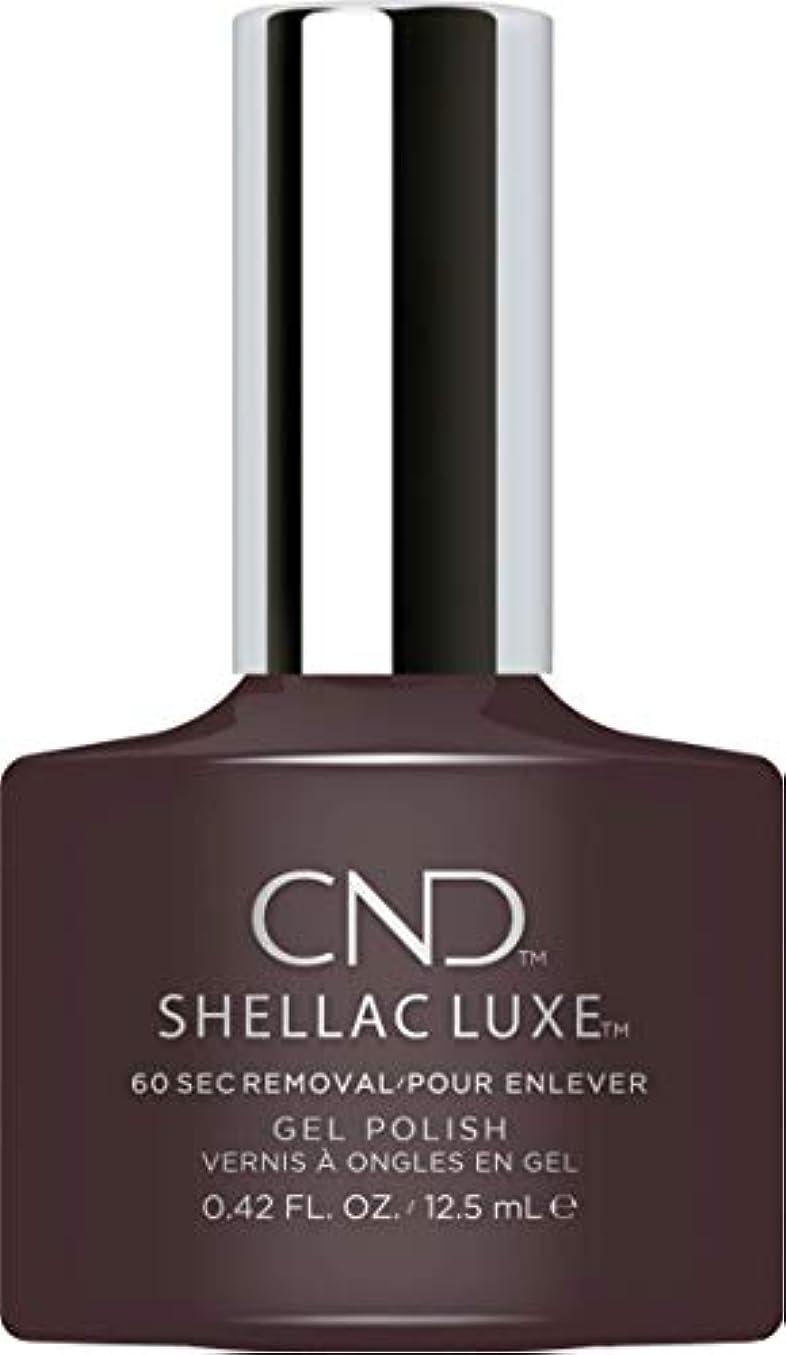 フェードアウトバルセロナ内側CND Shellac Luxe - Phantom - 12.5 ml / 0.42 oz