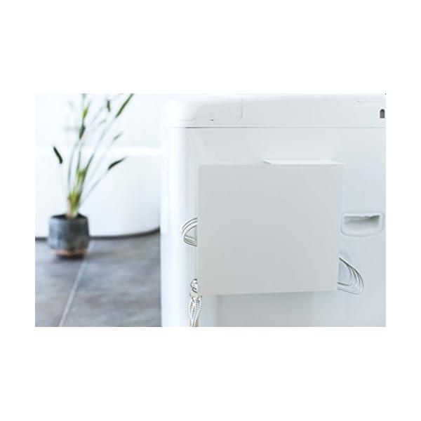 山崎実業 洗濯ハンガー収納 洗濯機横 マグネッ...の紹介画像7
