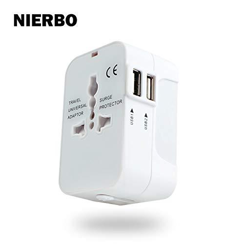 【150円OFFのクーポンが可能】海外 コンセント 変換プラグ 2USBポート付き 海外旅行充電器 A・O・BF・Cタイプ 電源プラグ コンセント変換 海外旅行 便利グッズ 世界150ヶ国以上対応