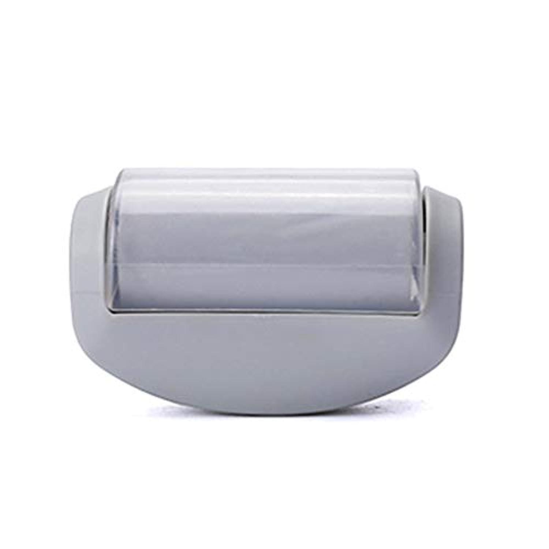 エキスパート悪行トレイミニ便利なローラータイプ粘着性デバイス洗える髪付きデバイスの繰り返し使用耐久性のある髪付きデバイス-グレー