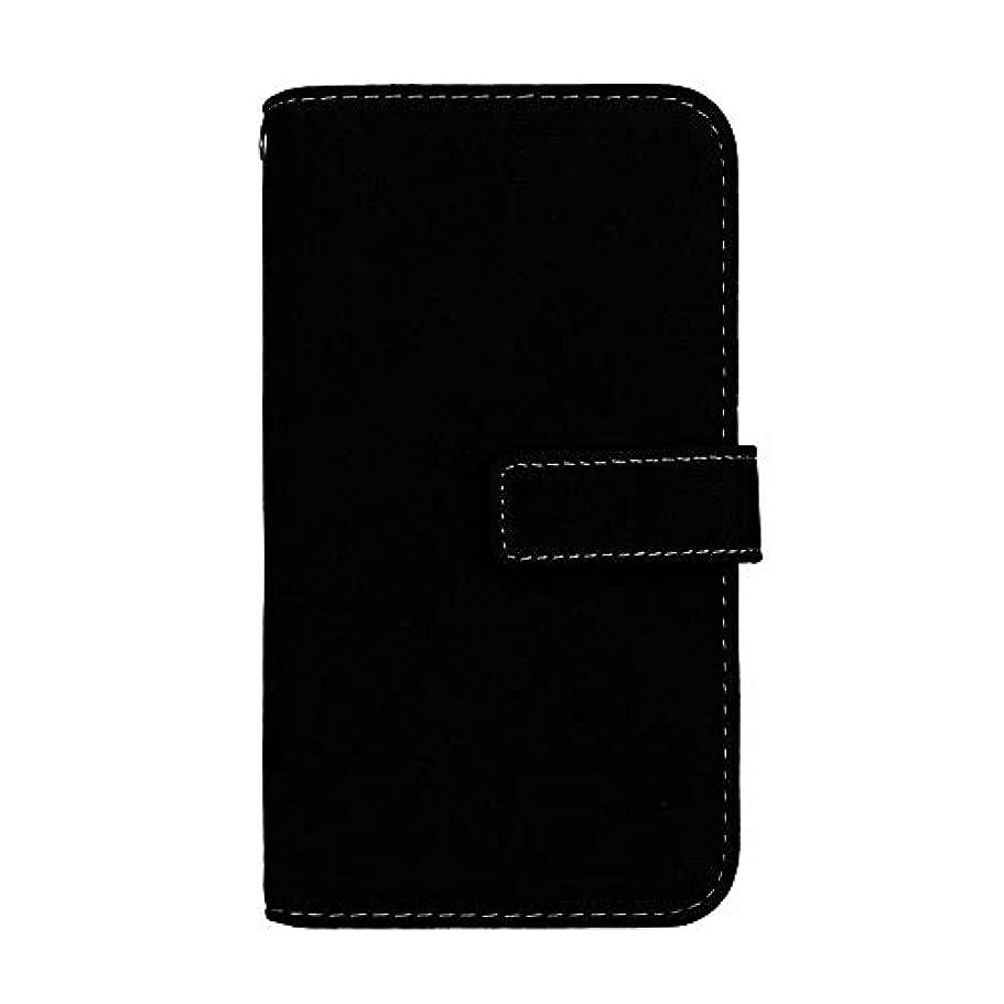 正当な水差しソーシャルGalaxy J2 Pro 2018 高品質 マグネット ケース, CUNUS 携帯電話 ケース 軽量 柔軟 高品質 耐摩擦 カード収納 カバー Samsung Galaxy J2 Pro 2018 用, ブラック