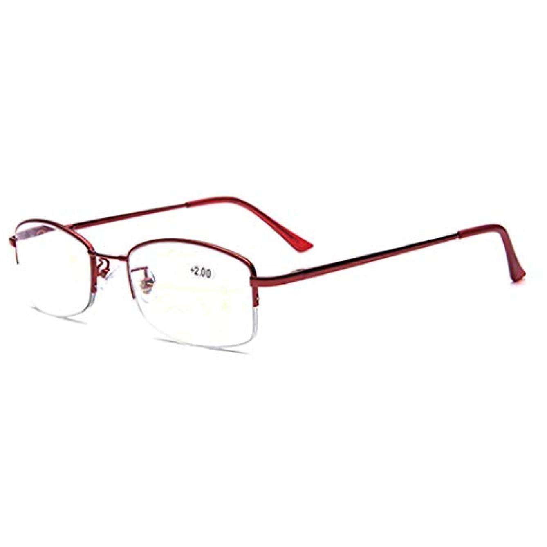 適切に管理者創傷老眼鏡 、ブルーライトカットメガネ 視力保護 目の疲れを緩、プログレッシブマルチフォーカス、慰安ファッション品質読者