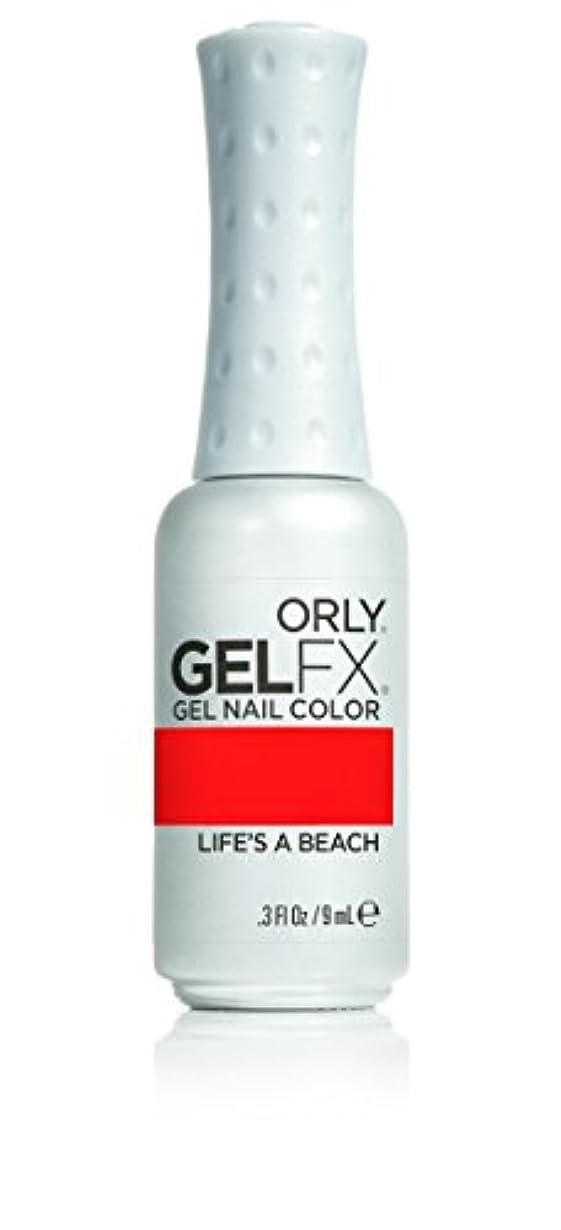 許可発生するクモOrly GelFX Gel Polish - Life's A Beach - 0.3oz/9ml