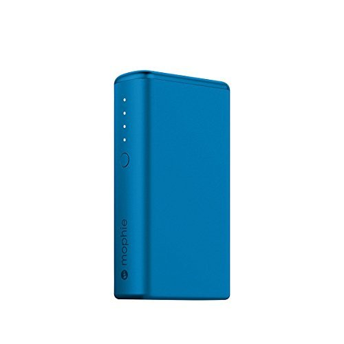 日本正規品・1年保証mophie power boost (急速充電対応 5200mAh モバイルバッテリー) ブルー MOP-BY-000145