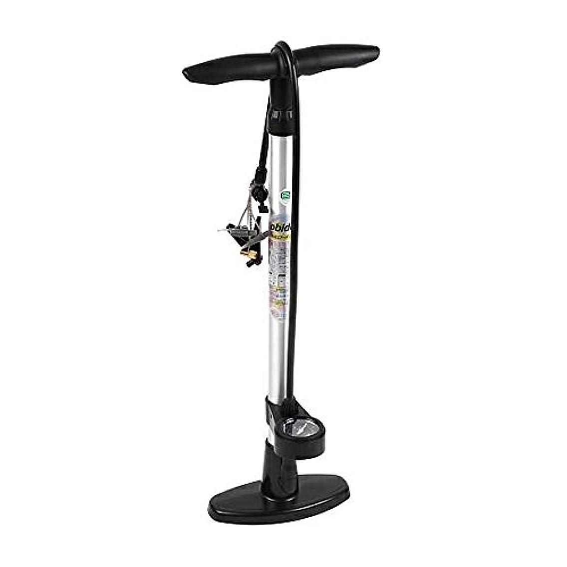 身元たるみサイクルオリンパス(OLYMPUS) 自転車 空気入れ アルミ製 ゲージ付き フロアポンプ アルミポンプ 英式 米式 仏式 120psi 自転車空気入れ 空気圧ゲージ 圧力ゲージ付 OC-223A