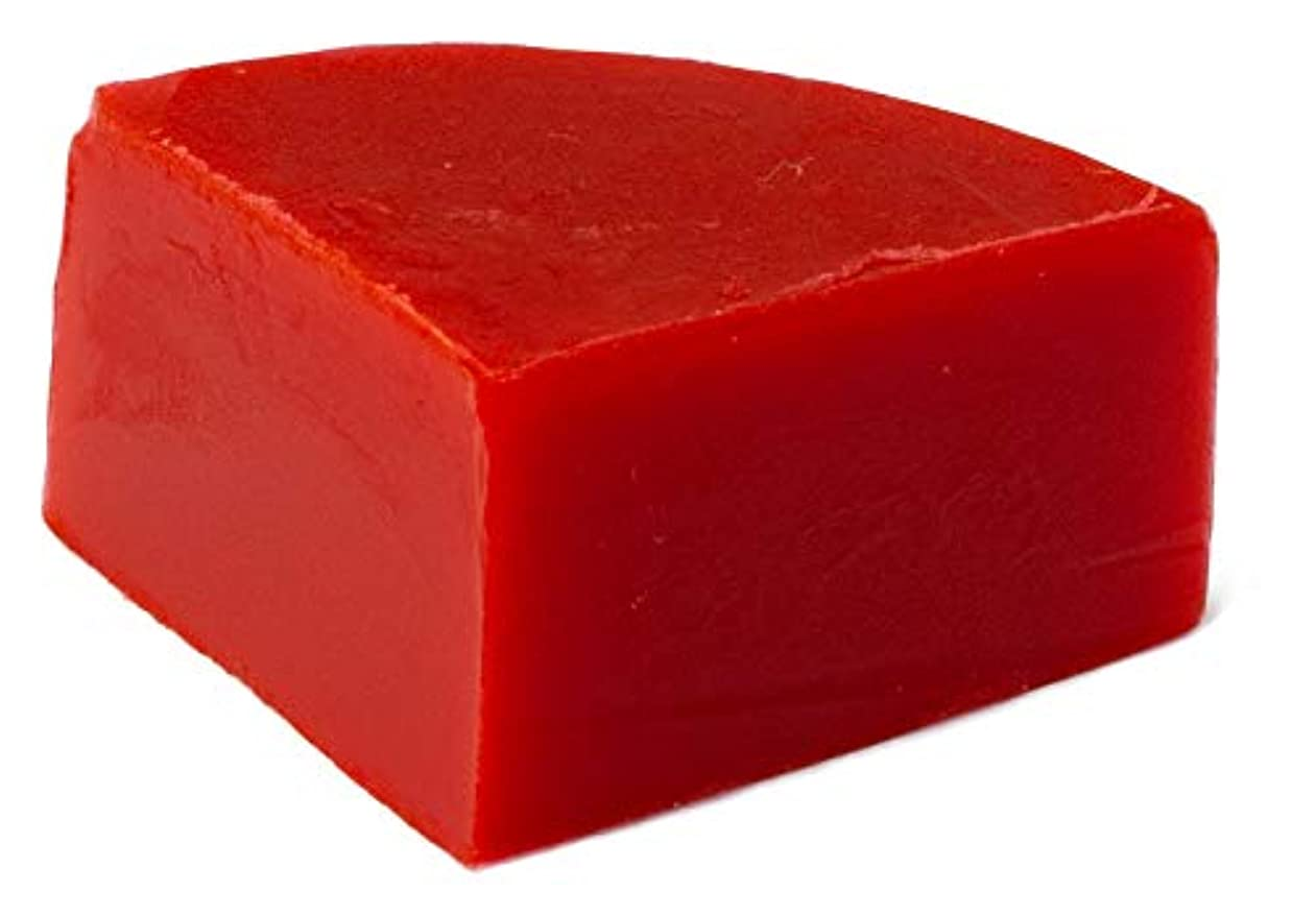のれん重量浸透するグリセリン クリアソープ 色チップ 赤 25g (MPソープ)