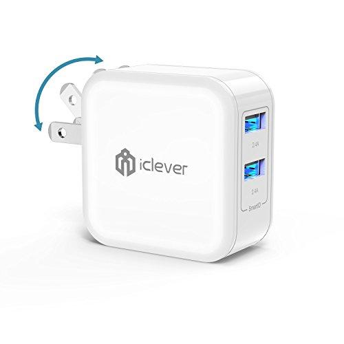 iclever USB充電器 2ポート 充電器 急速充電 4...