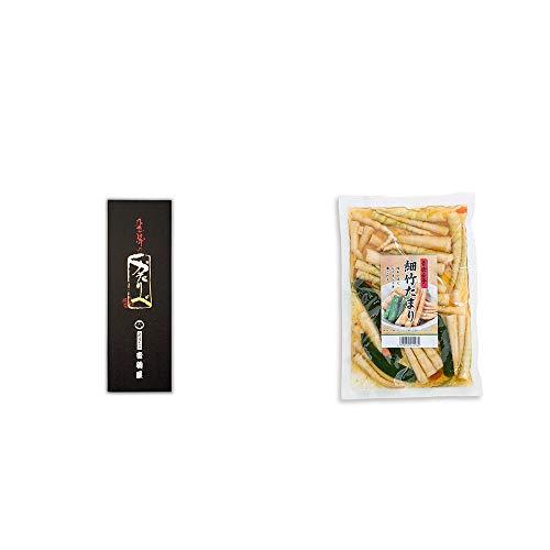 [2点セット] 岐阜銘菓 音羽屋 飛騨のかたりべ[6個入] ・青唐辛子 細竹たまり(330g)