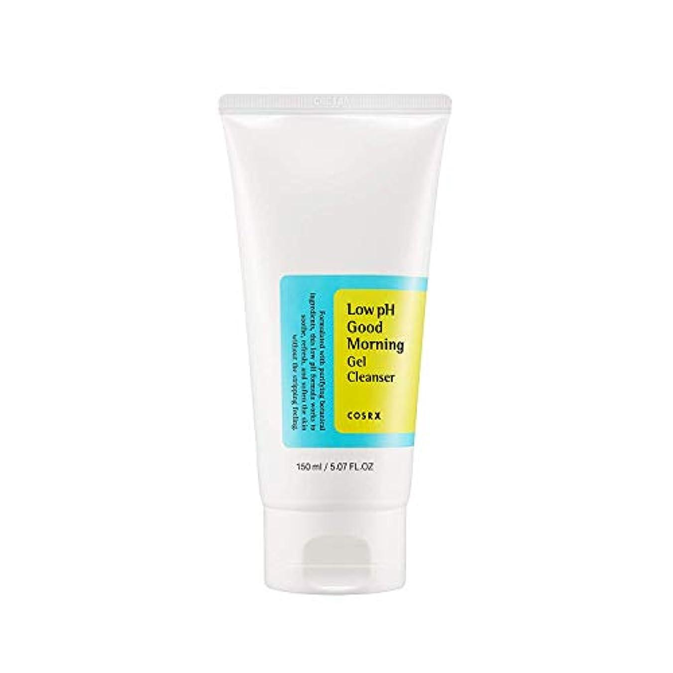 COSRX 弱酸性 グッドモーニング ジェルクレンザー / 敏感肌用 クレンジングジェル / Low PH Good Morning Gel Cleanser (150ml)