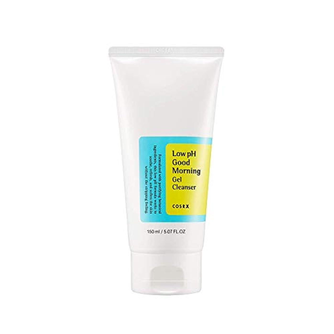 葡萄確立しなければならないCOSRX 弱酸性 グッドモーニング ジェルクレンザー / 敏感肌用 クレンジングジェル / Low PH Good Morning Gel Cleanser (150ml)