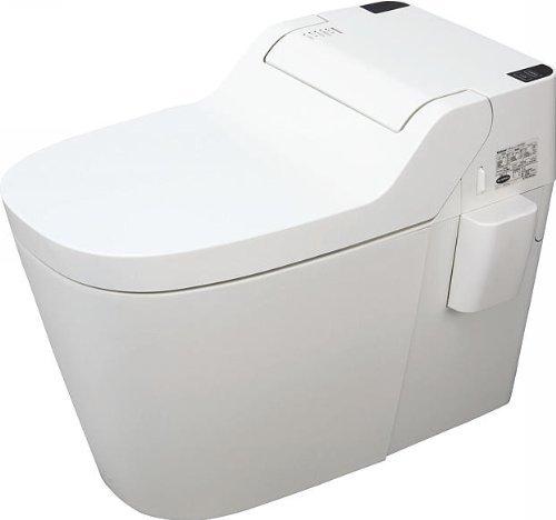 RoomClip商品情報 - パナソニック 全自動おそうじトイレ アラウーノS XCH1101PWS (CH1101PWS+CH110FP) ホワイト 壁排水タイプ 便器+配管セット タンクレス 節水型トイレ