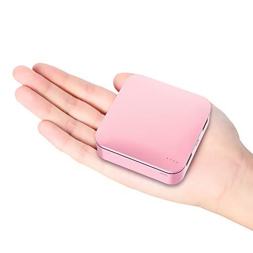 【20000mah 世界最小 最軽量】モバイルバッテリー 大容量 2.4A急速充電 2USBポート 携帯充電器 スマホバッテリー iPhone& Xperia&Android各種対応 (ローズゴールド)
