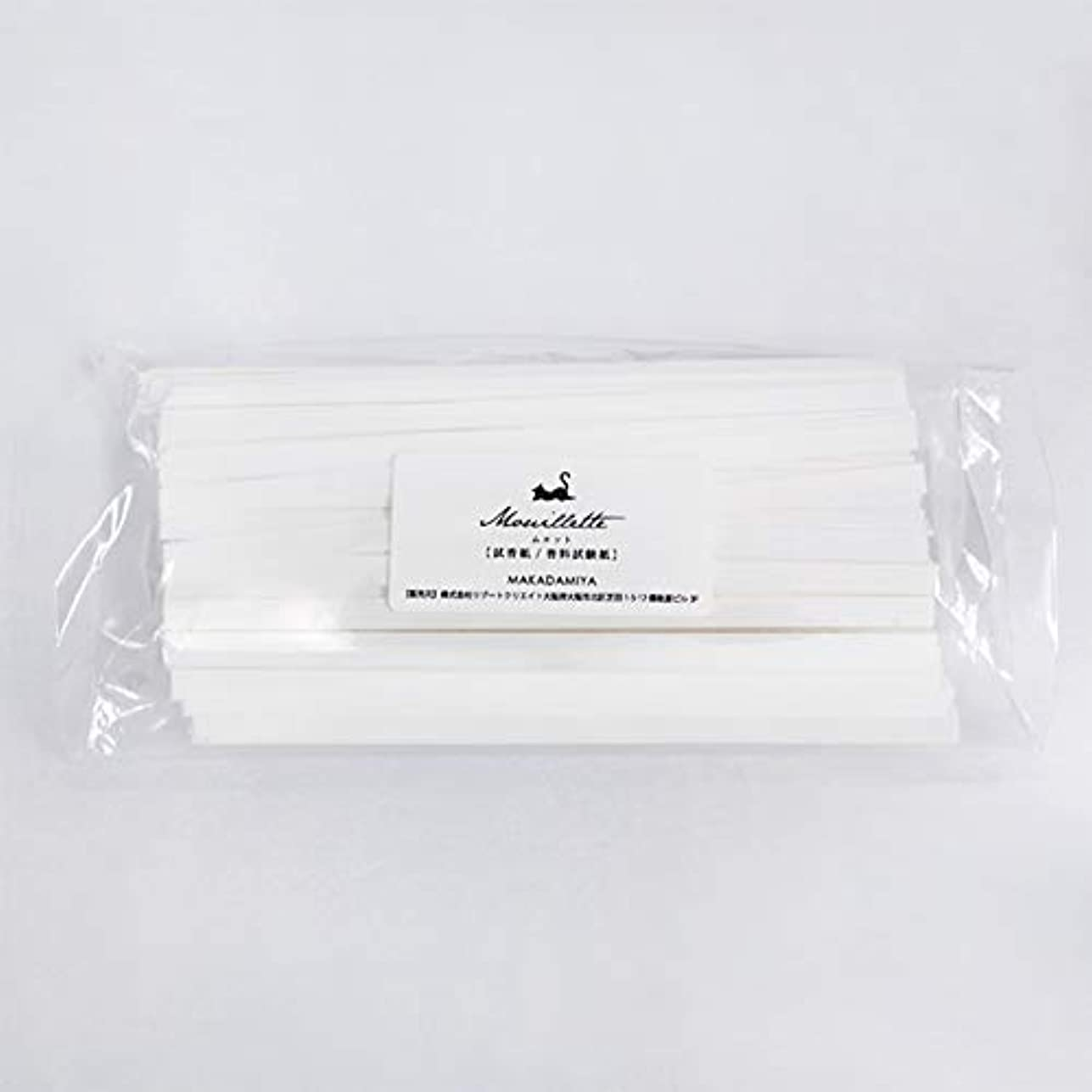 キャッチ販売員しなやかなムエット500本入り 大容量 プロ用(アロマ検定試験対応 試香紙 香料試験紙)