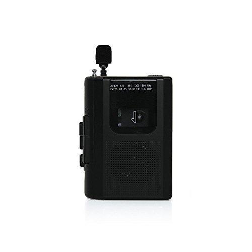 STAYER『外付けマイク付カセットレコーダー(AD-PTCPABK)』
